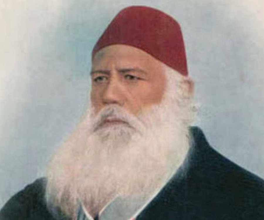 Balighur Rehman says Sir Syed Ahmed Khan laid the foundation of academic pursuits. PHOTO: THEFAMOUSPEOPLE.COM