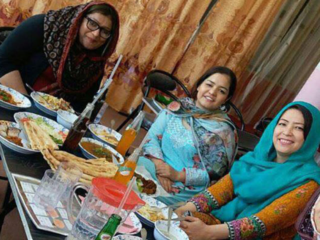a restaurant in quetta s hazara town is by women for women