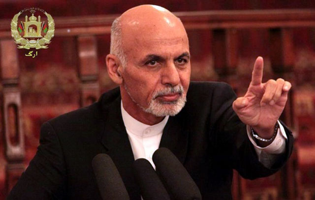 afghan president to terror groups surrender or face elimination