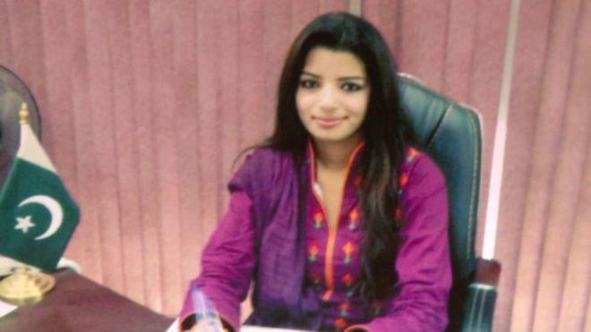 Zeenat Shehzadi. PHOTO COURTESY: BBC URDU