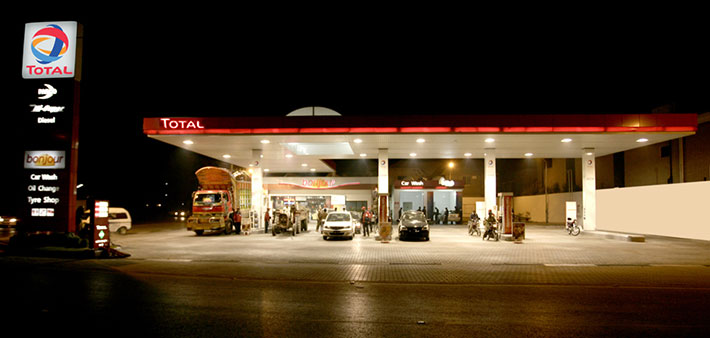 corporate corner total parco opens 500th petrol pump