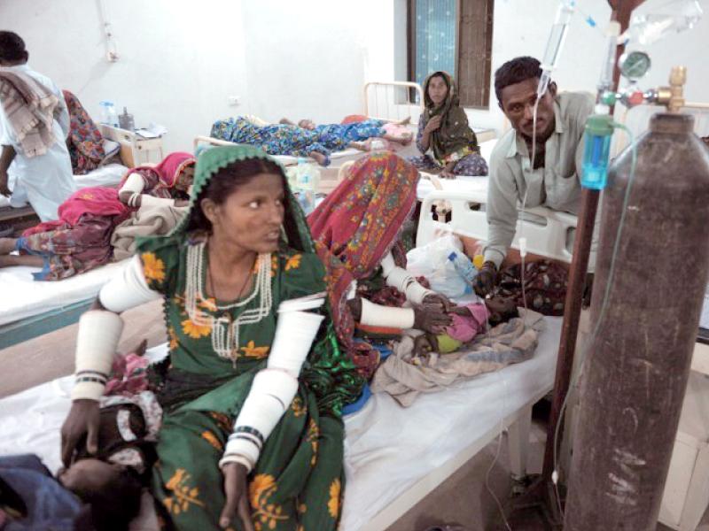 12 children under five die in tharparkar in two days