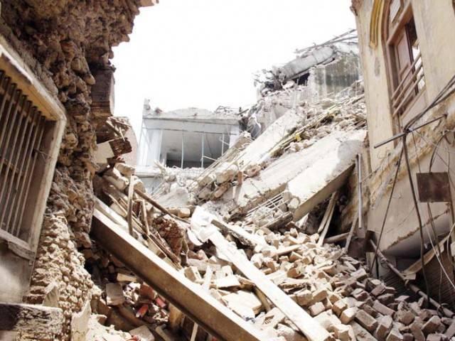 seven killed in bajaur roof collapse