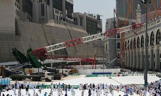 no blood money for victims of 2015 makkah crane crash rules saudi court