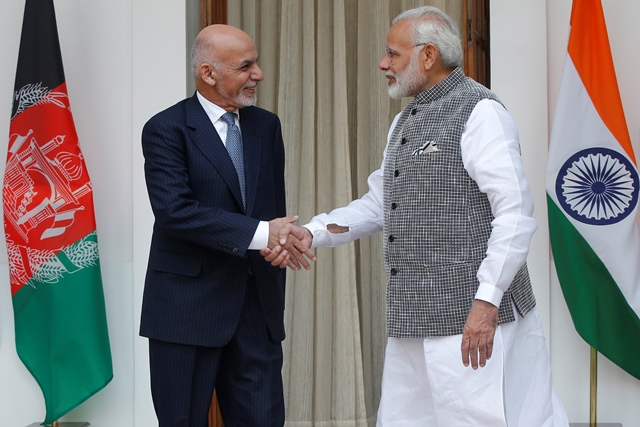 modi ghani express firm resolve to end terrorism