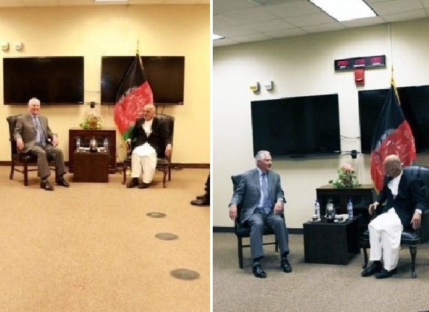 photo of tillerson s meeting with afghan president ghani mysteriously photoshopped