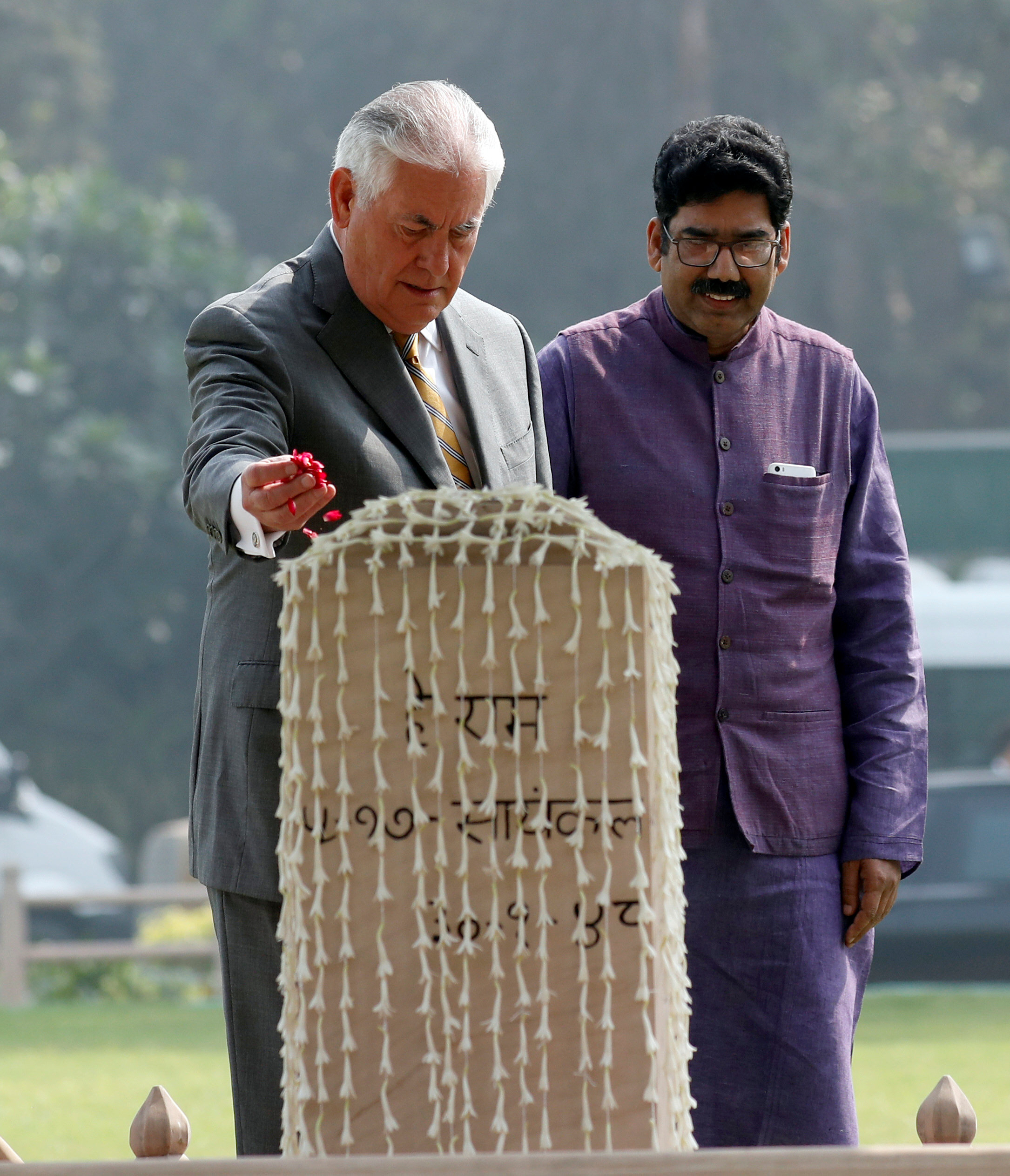south asia visit tillerson to meet india s modi today