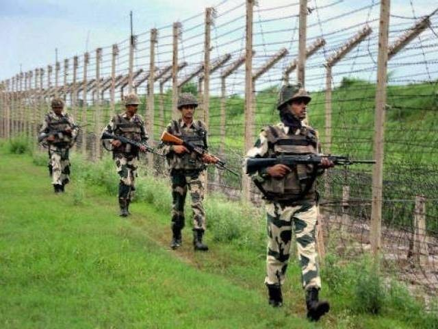 18 year old girl injured in cross border shelling by indian troops