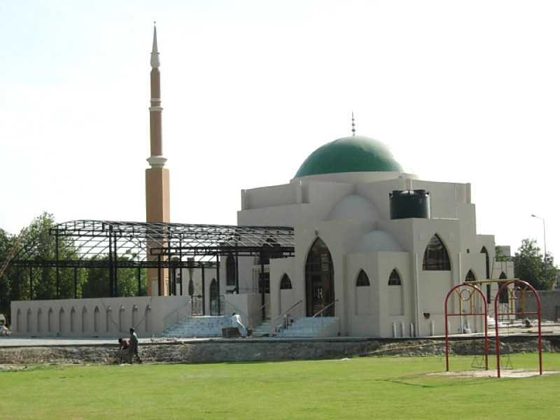 DHA aims to build a mosque in each sector.