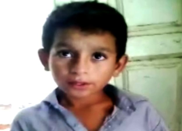 video shows boy kept chained at a madrassa in sindh s tm khan
