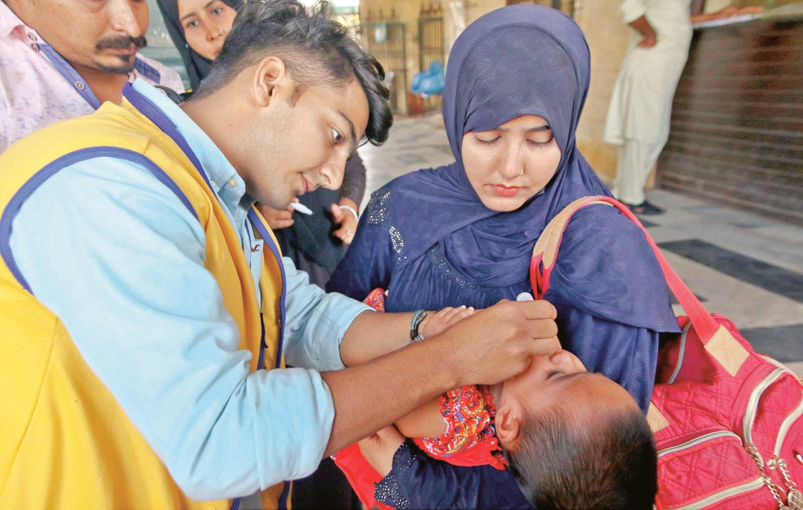 five day anti polio drive from oct 30