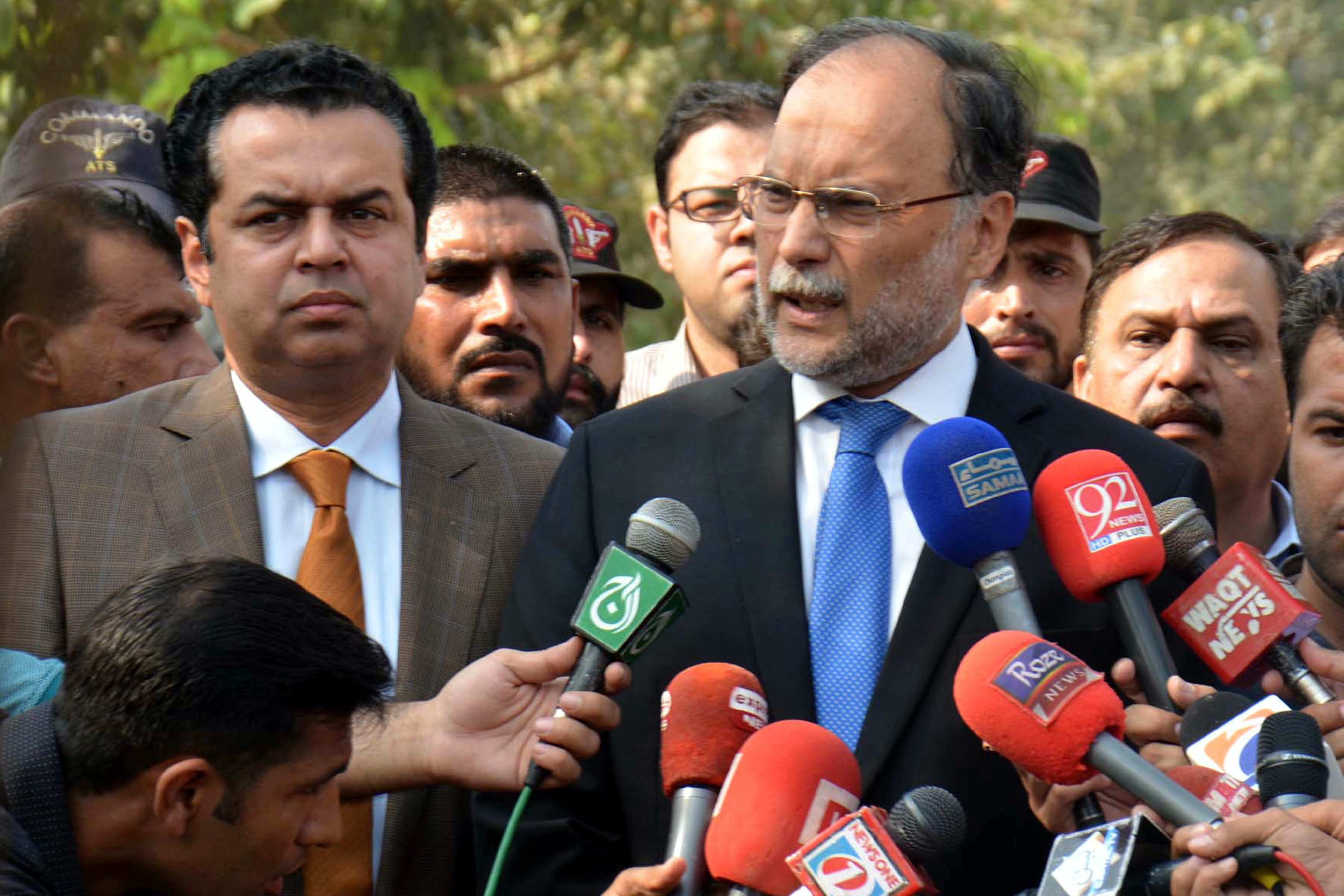 no clash of institutions ahsan iqbal