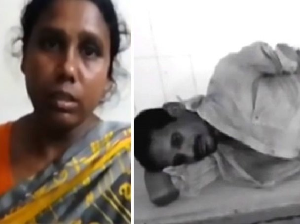 indian woman slices off drunk husband s penis when he tries to rape her in front of kids