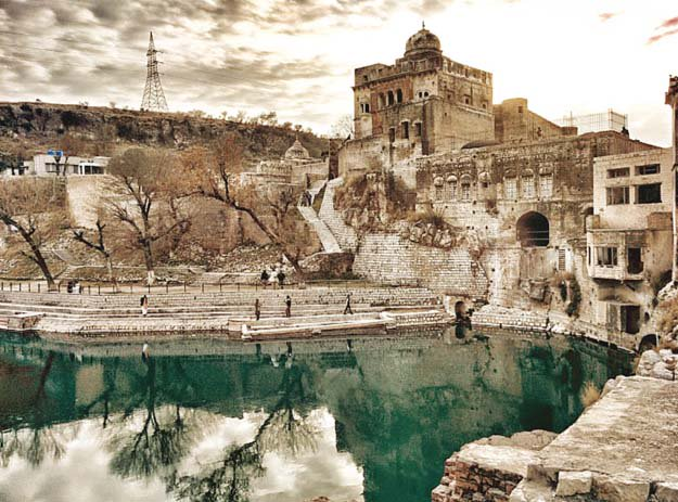 top court seeks report on fabled katas raj temples pond drying up