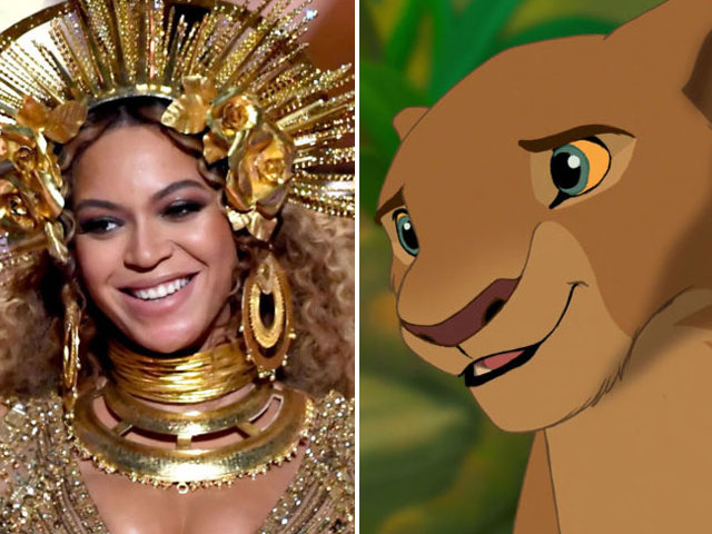 beyonce joins disney s live action the lion king