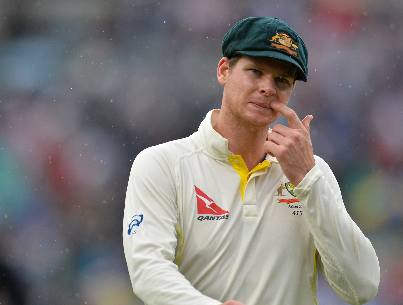indifferent to rubbish smith has bristled at the suggestion that he has a big say in selection matter and insisted although he reads everything but was largely unconcerned photo afp