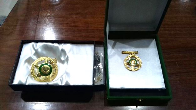 late poet ahmed faraz s stolen medals returned to his family