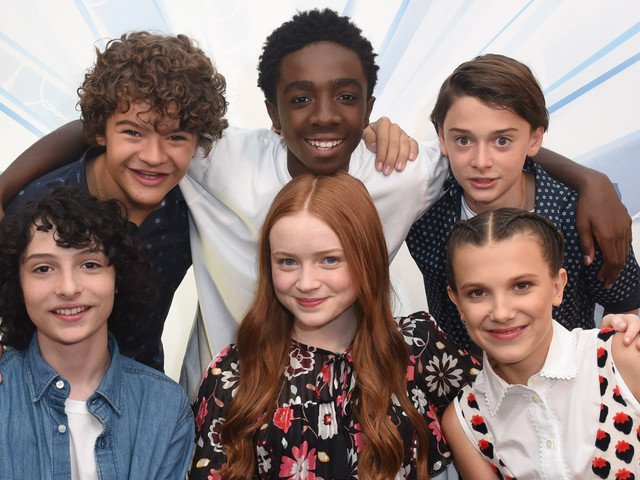 model in trouble for asking stranger things child star to hit her up