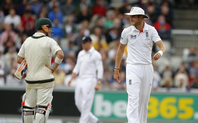 for ashes broad issues david warning