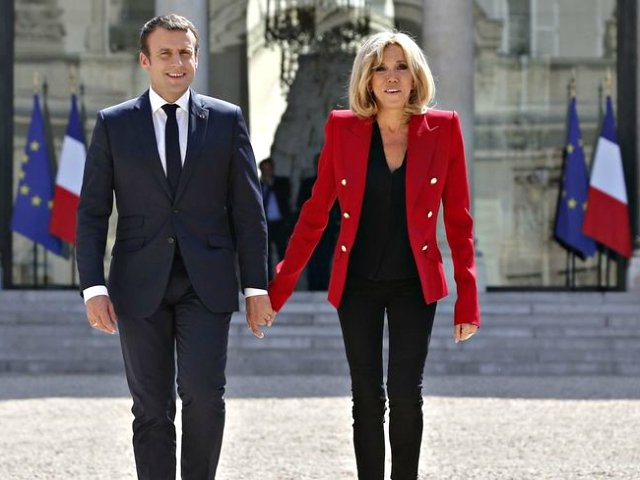 brigitte macron talks marriage age gap with french president emmanuel macron