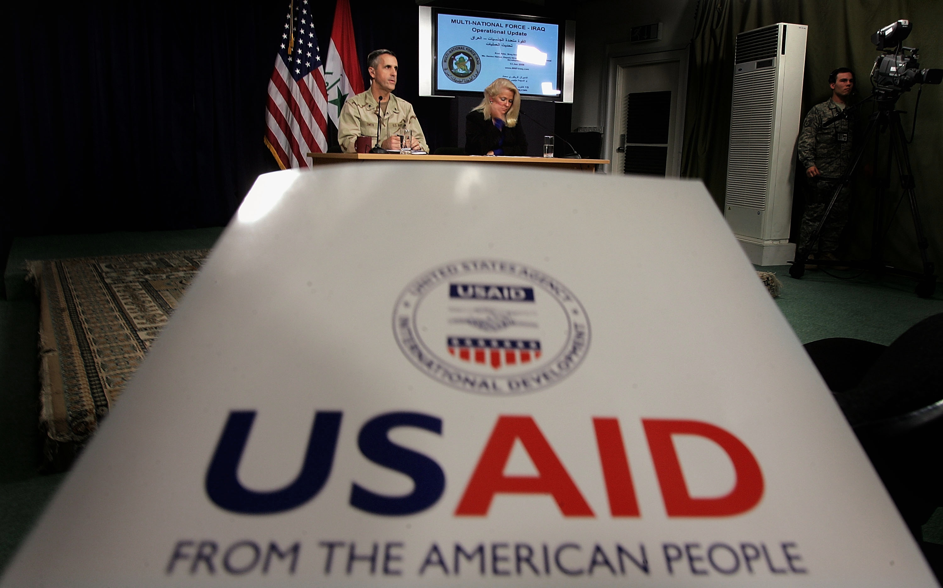 real cost of working with aid money