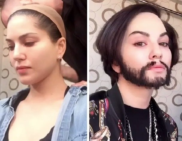 sunny leone shocks fans with her man makeover for song barbie girl