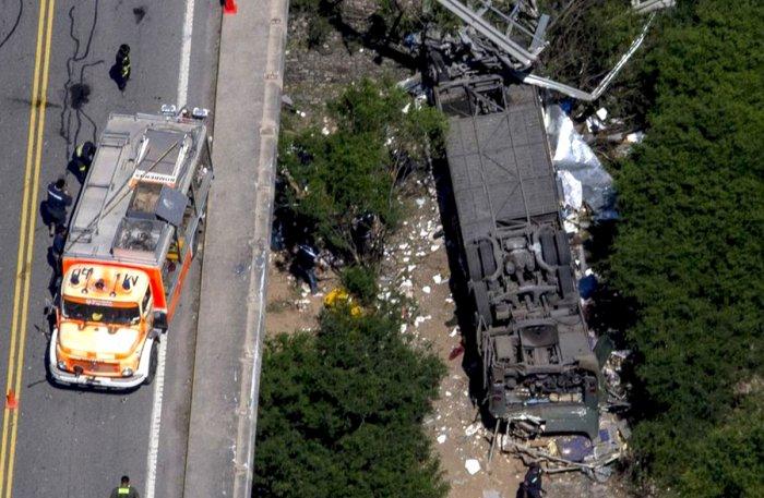 bus crash photo reuters