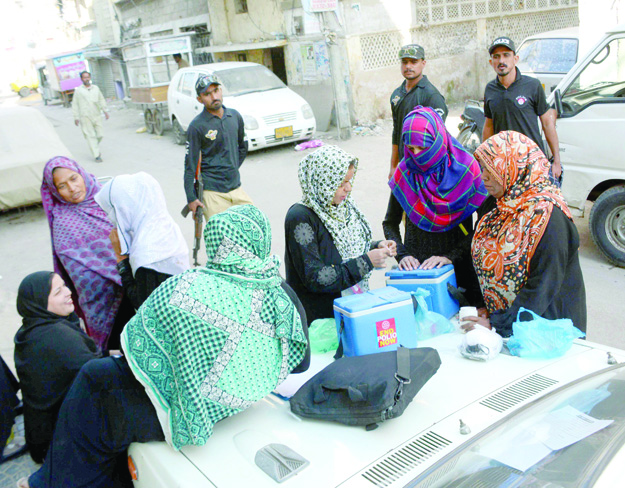 beating the virus four day polio campaign kicks off