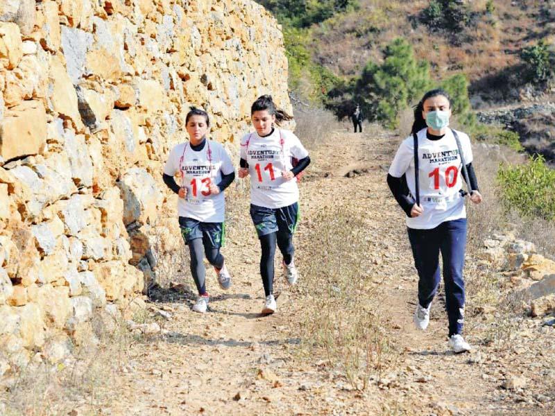 adventure marathon ends at khanpur lake