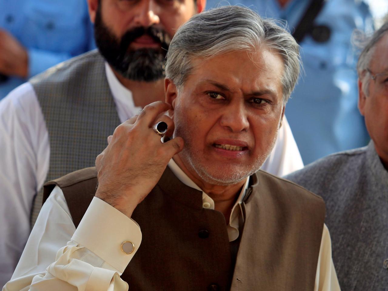 Finance Minister Ishaq Dar. PHOTO: REUTERS