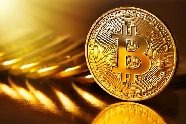 The price of the digital currency bitcoin hits an all-time high this year. PHOTO: REUTERS