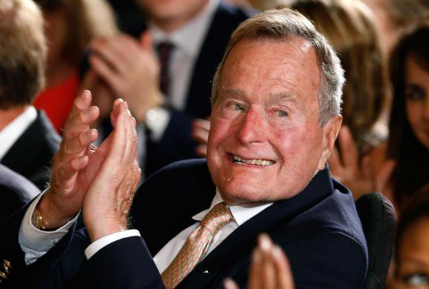 george hw bush becomes longest living president in us history