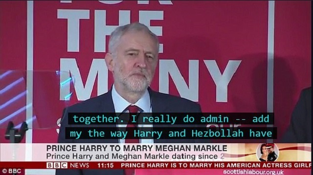 screen grab of a bbc segment source mail online