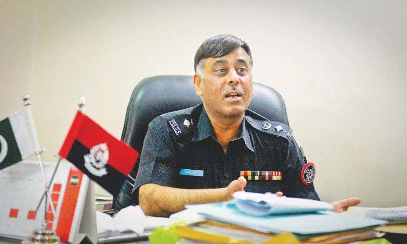 SSP Malir Rao Anwar. PHOTO: FILE