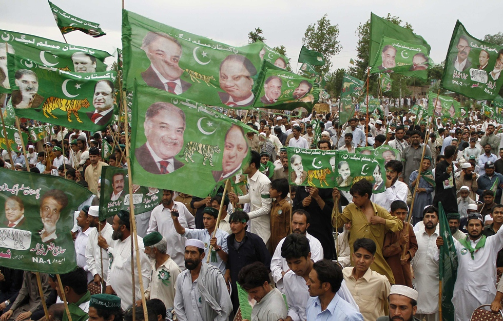 pml n plans seven workers conventions in punjab