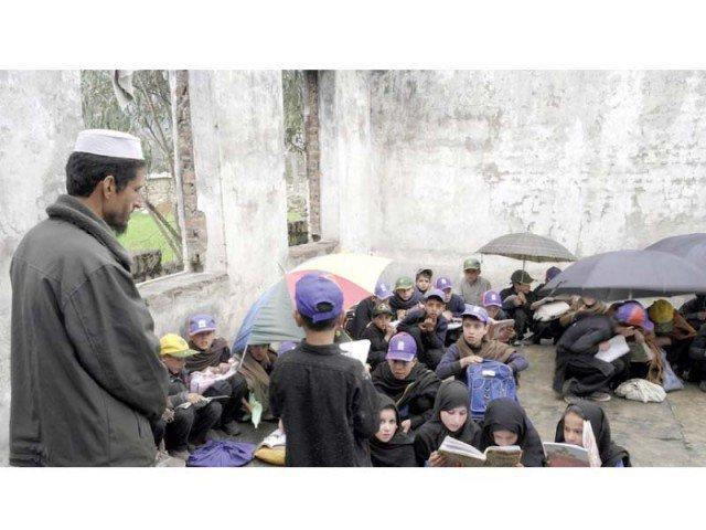the fata secretariat opens 25 alternative learning schools for south waziristan students photo express
