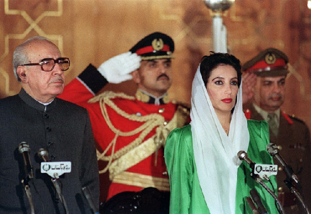 today in history benazir bhutto becomes first woman pm in muslim world