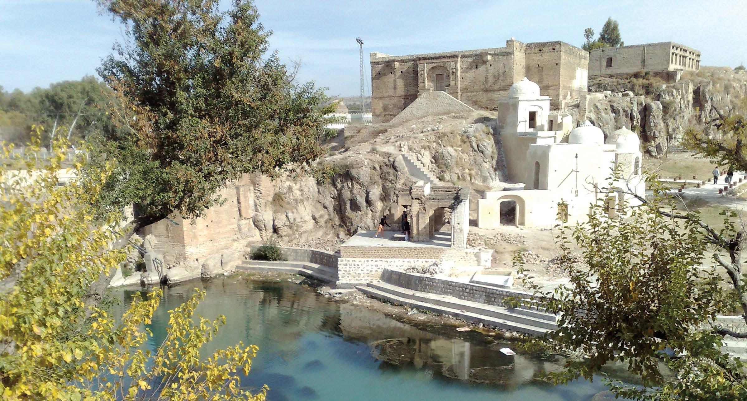 katas raj temple restoration cm orders ban on industrial units around historic site