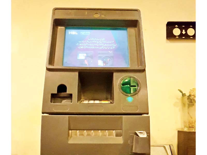Hacking through skimming devices is a global phenomenon and not limited to HBL alone, an official argued, adding the scale of the problem was small keeping in view the overall HBL customer base of 10 million. Photo: Express