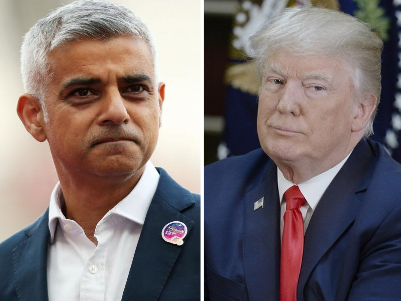 exclusive trump added to world s problems says london mayor