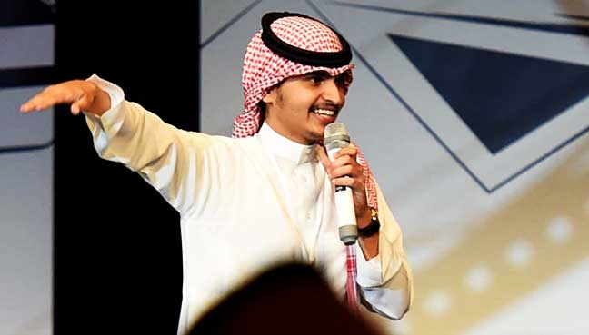 saudi arabia finds its funny bone with stand up comedy