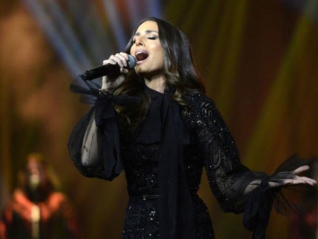 lebanese singer hiba tawaji performs during the first female only music concert in riyadh on december 6 2017 afp haya al suwayed