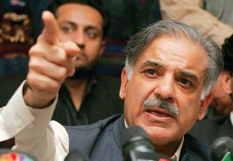 shehbaz blames pti for delay in orange line train completion