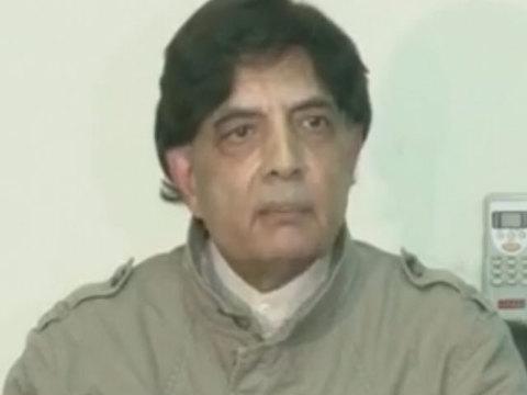 politics of sit ins will soon turn pakistan into banana republic says chaudhry nisar