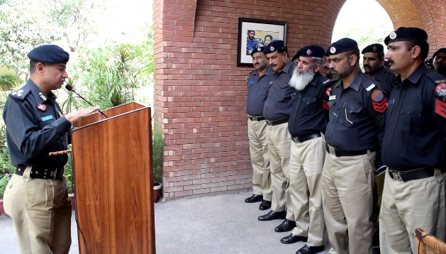 don t consider yourself rulers but servants of the people new islamabad police chief