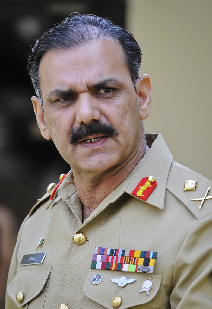 Lt Gen Asim Saleem Bajwa. PHOTO: REUTERS