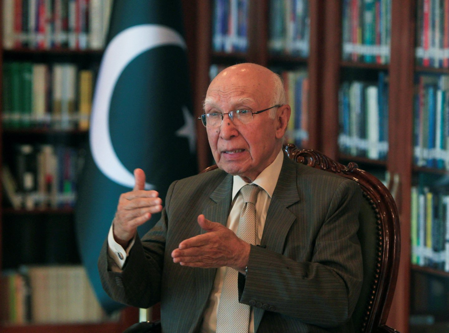 Planning Commission Chairman Sartaj Aziz. PHOTO: Reuters