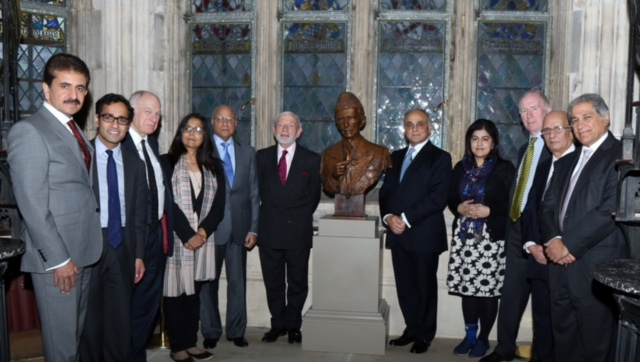 placed at lincoln s inn year long celebrations culminate on installation of quaid s bust