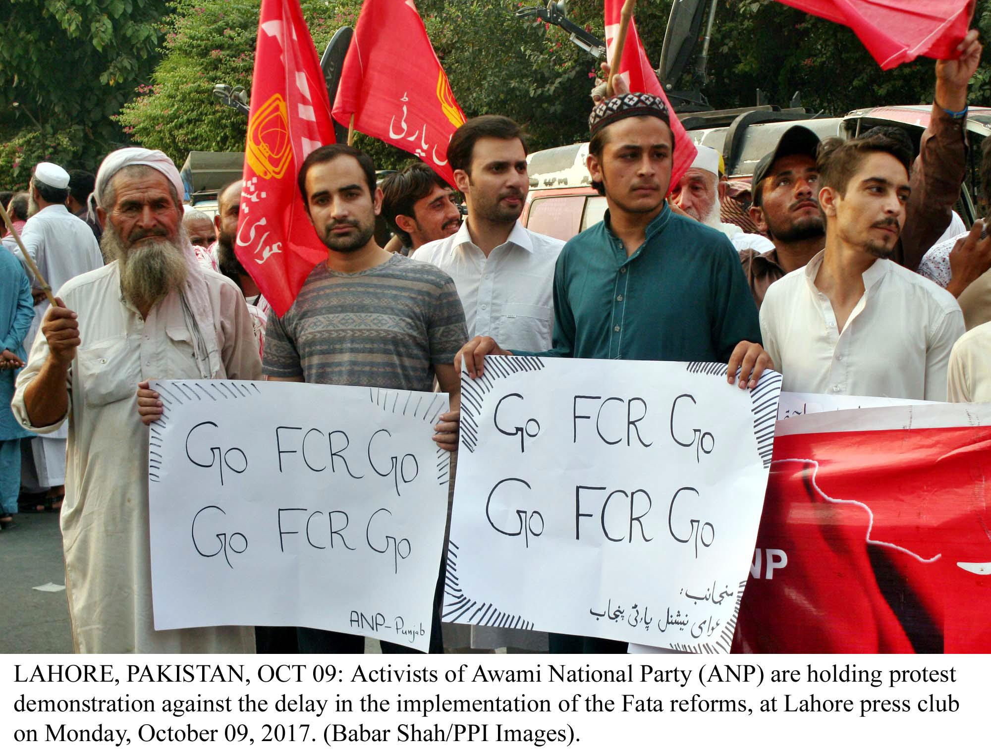 fata jirgas oppose merger plan