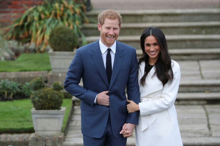 Prince Harry and Meghan Markle,PHOTO:AFP